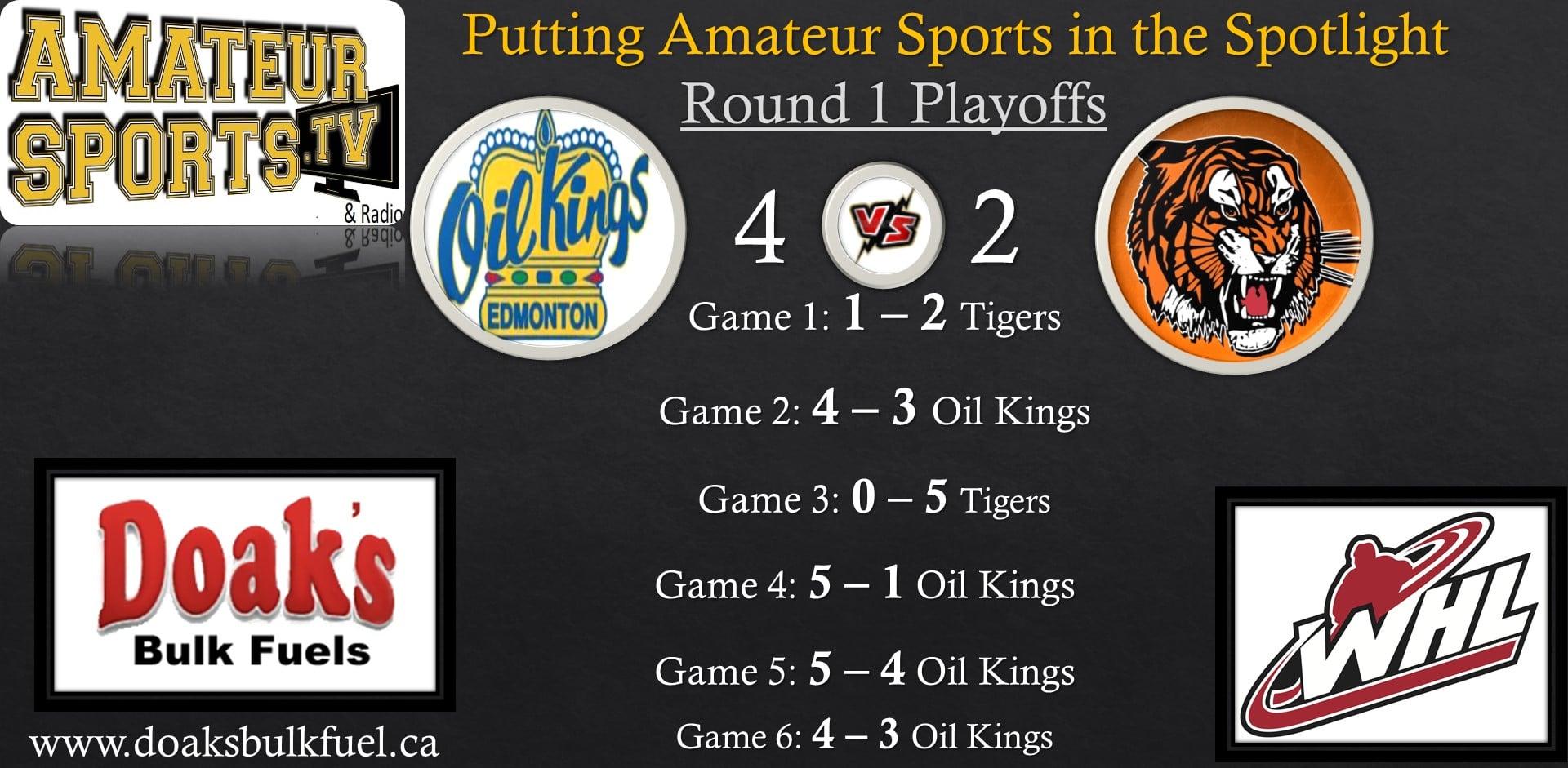 7 Oil Kings vs Tigers