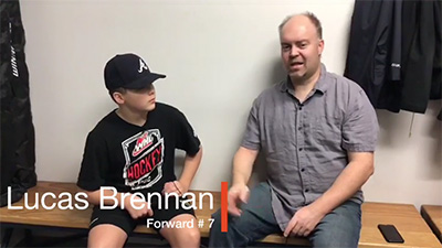 Churchill High School Hockey Academy – Lucas Brennan