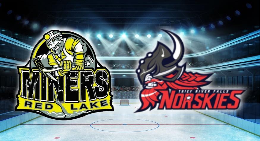 Miners vs Norskies SIJHL