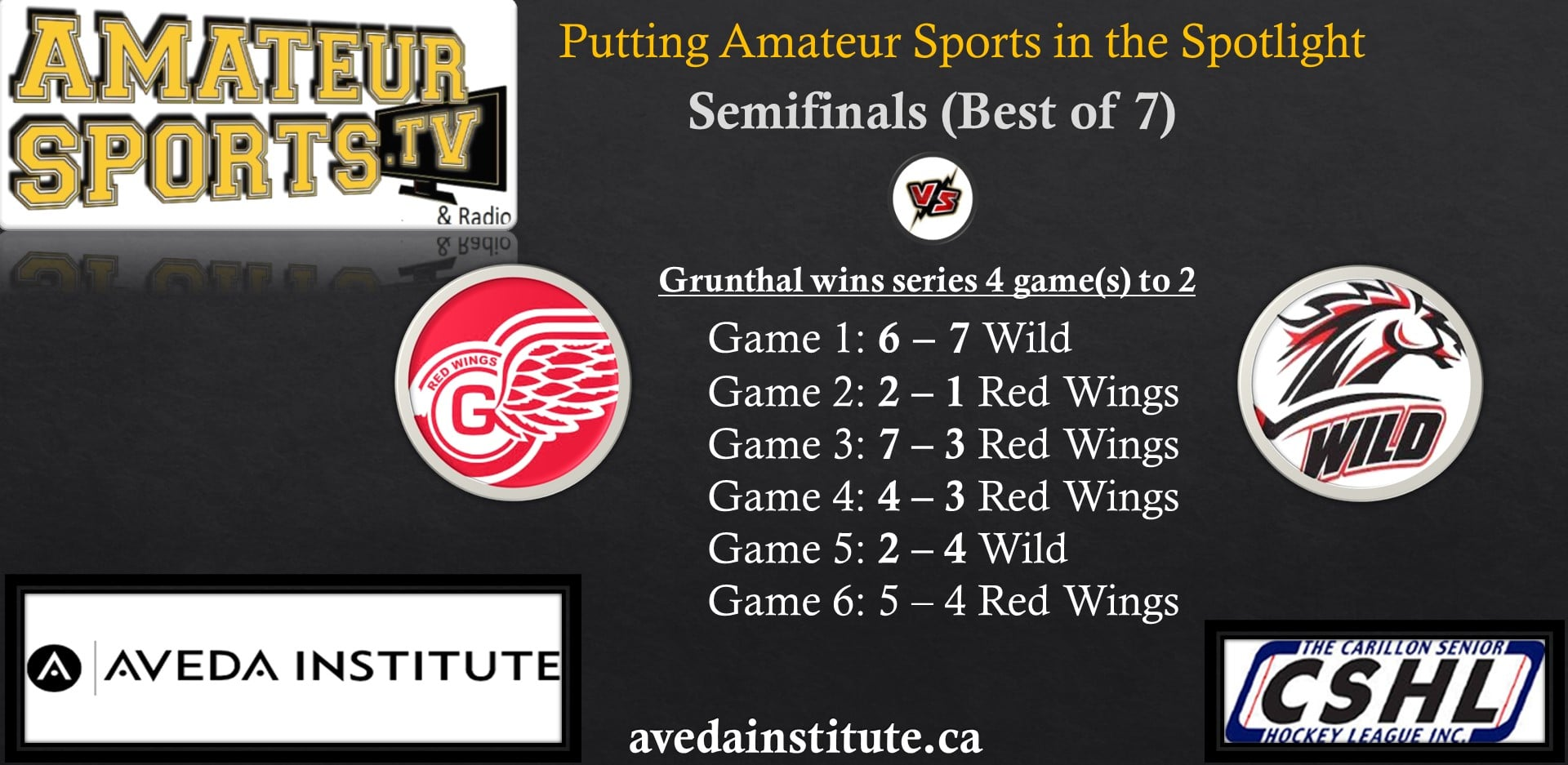 red wings vs red river wild