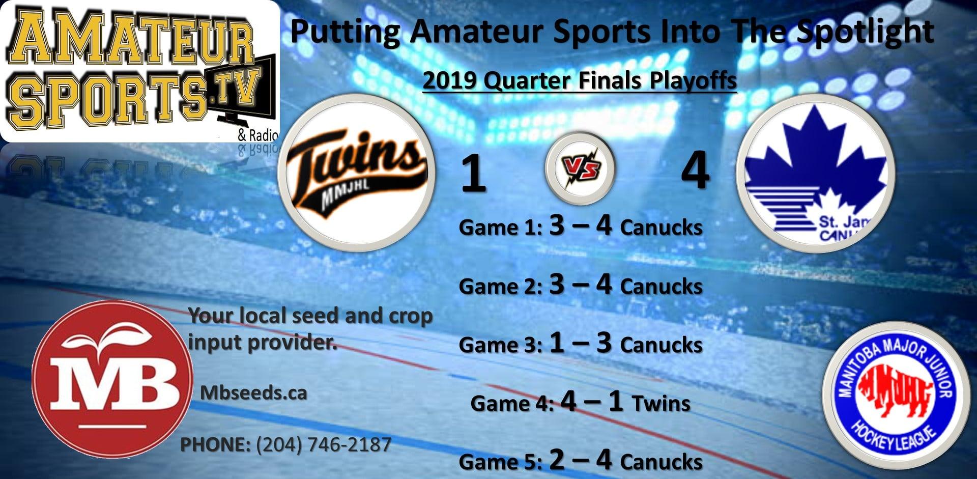 twins vs Canucks