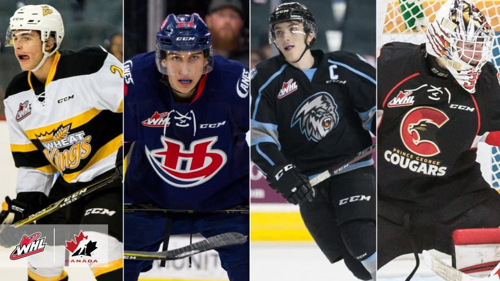 Hockey Canada Names Nine Whl Players To Training Camp Roster For